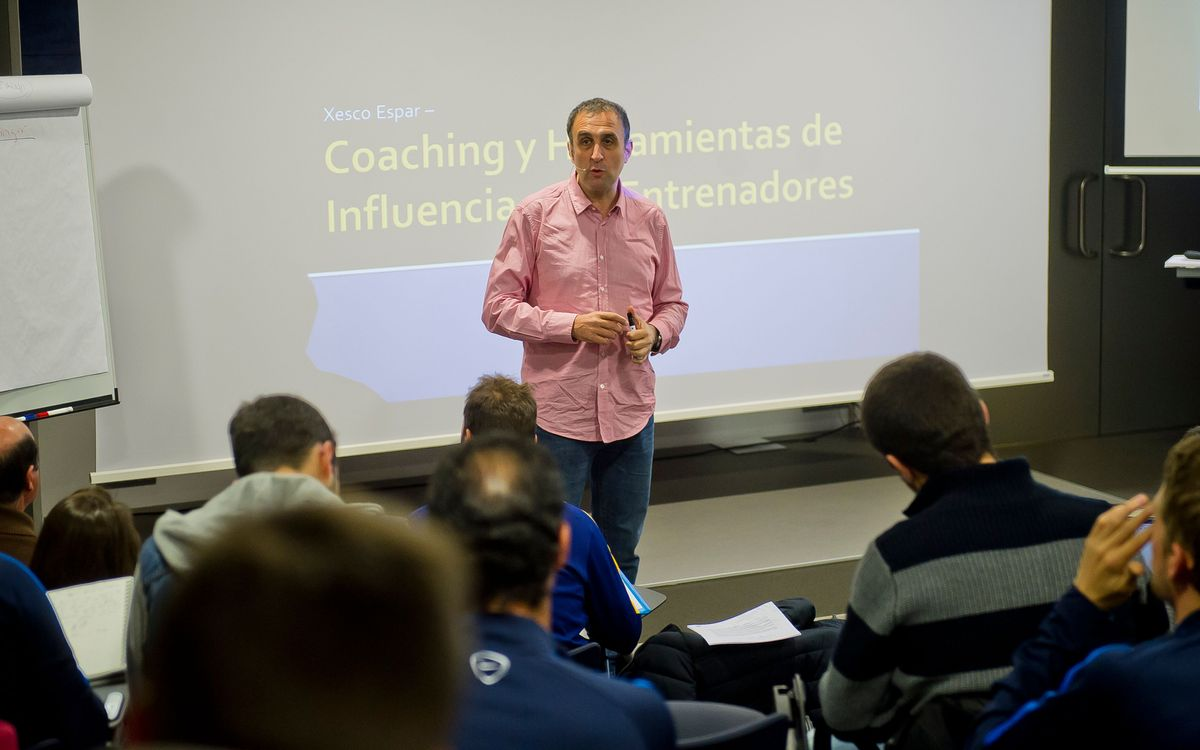The FCB Coaches Academy delves deep into coaching philosophy