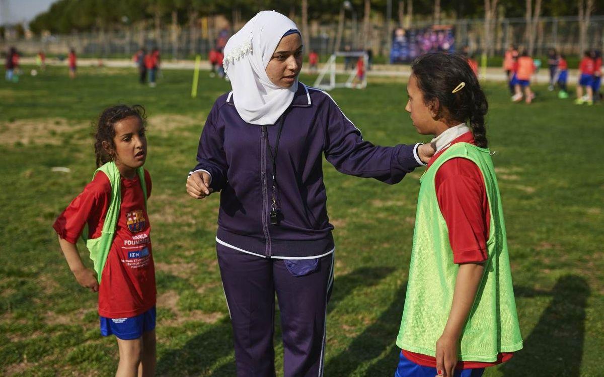 La Fundación Barça y el programa 'FutbolNet' en el Líbano, protagonistas en el diario 'The Guardian'