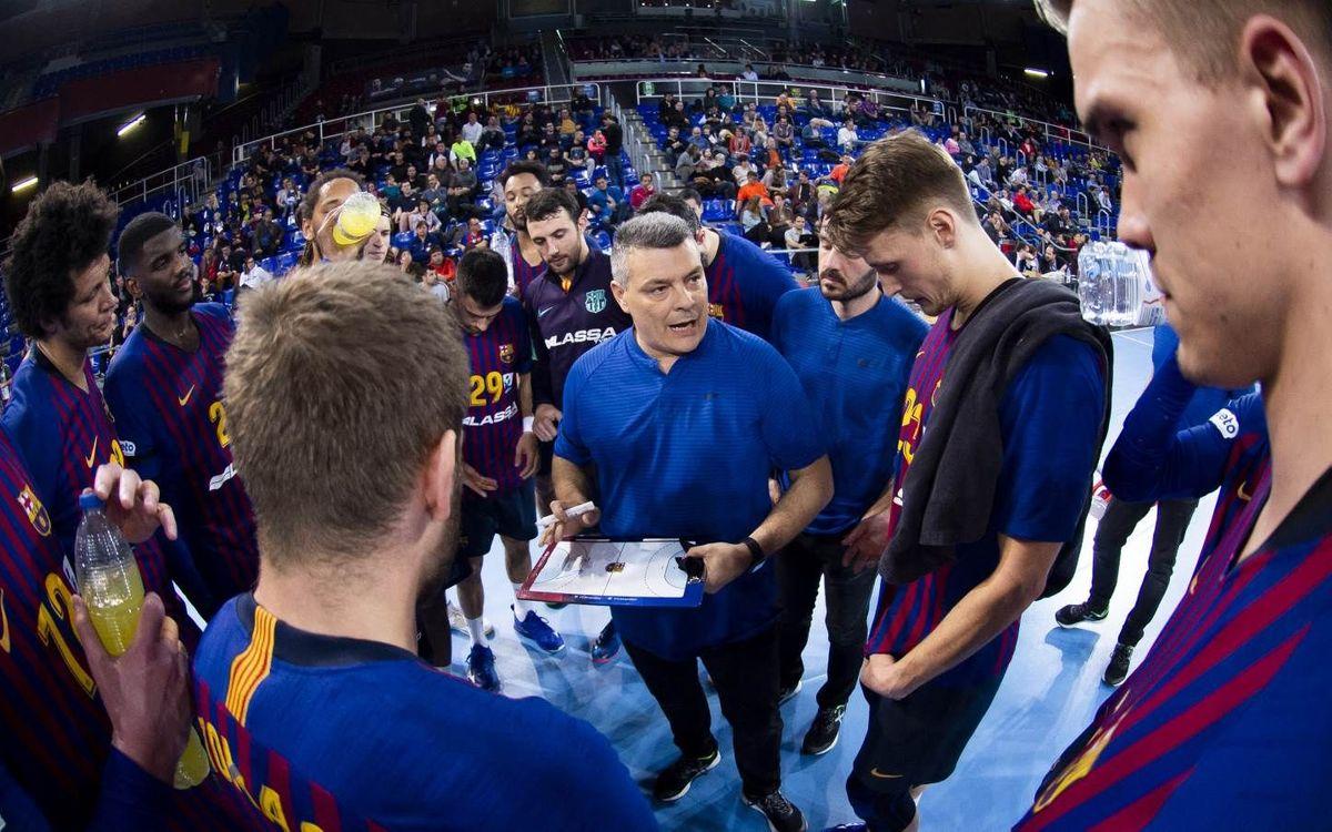 Barça Lassa – Ángel-Ximénez Avia PG: El campeón arranca la defensa de la Copa