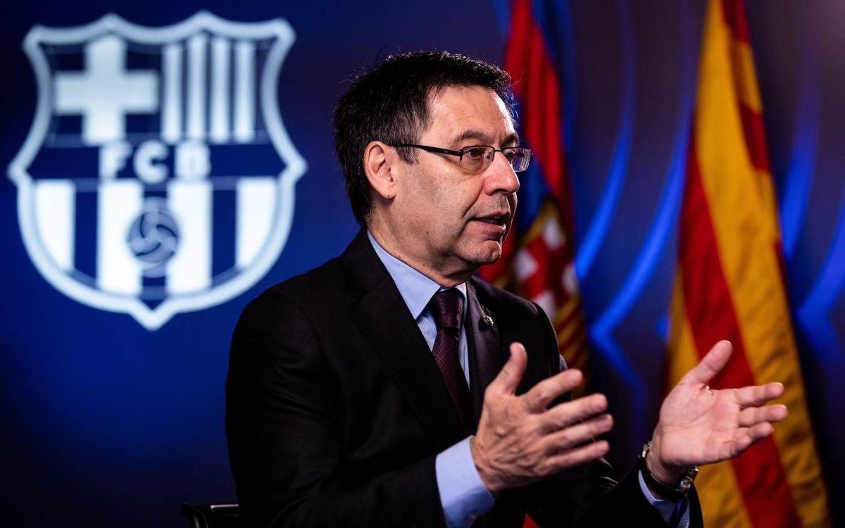 Bartomeu on life with Messi... and after Messi