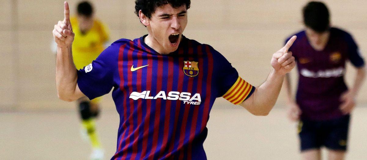 Barça Lassa B – Bisontes Castelló FS (2-0): Saviesa blaugrana
