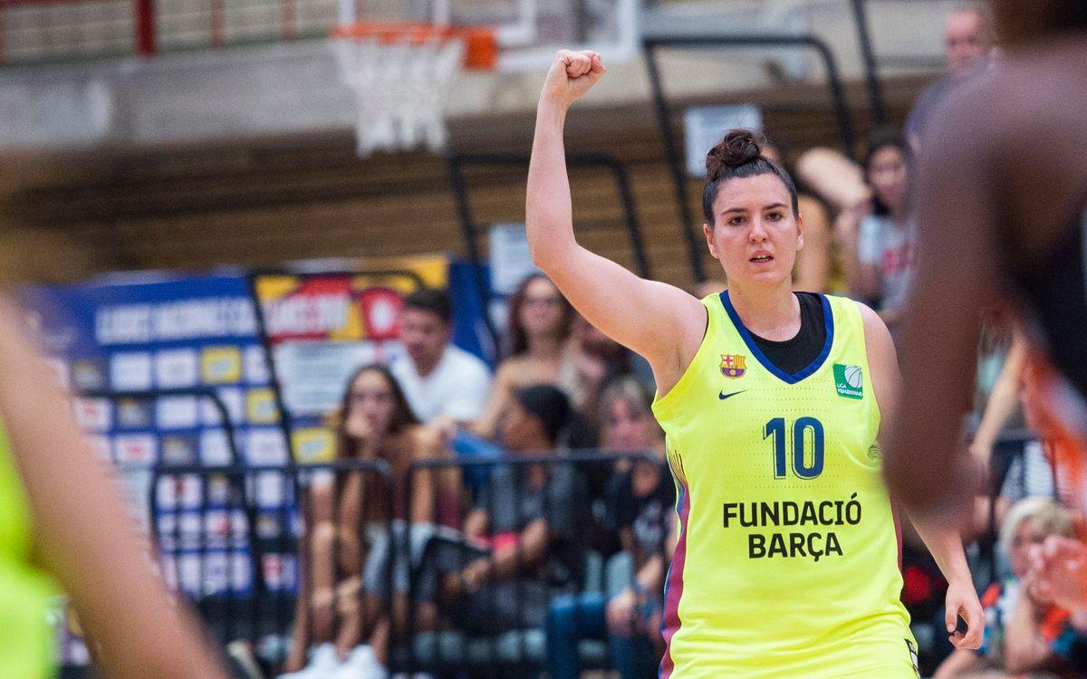 El bàsquet femení guanya i es jugarà el play-off en l'última jornada