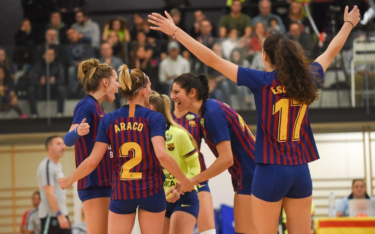 El Barça s'avança per la via ràpida
