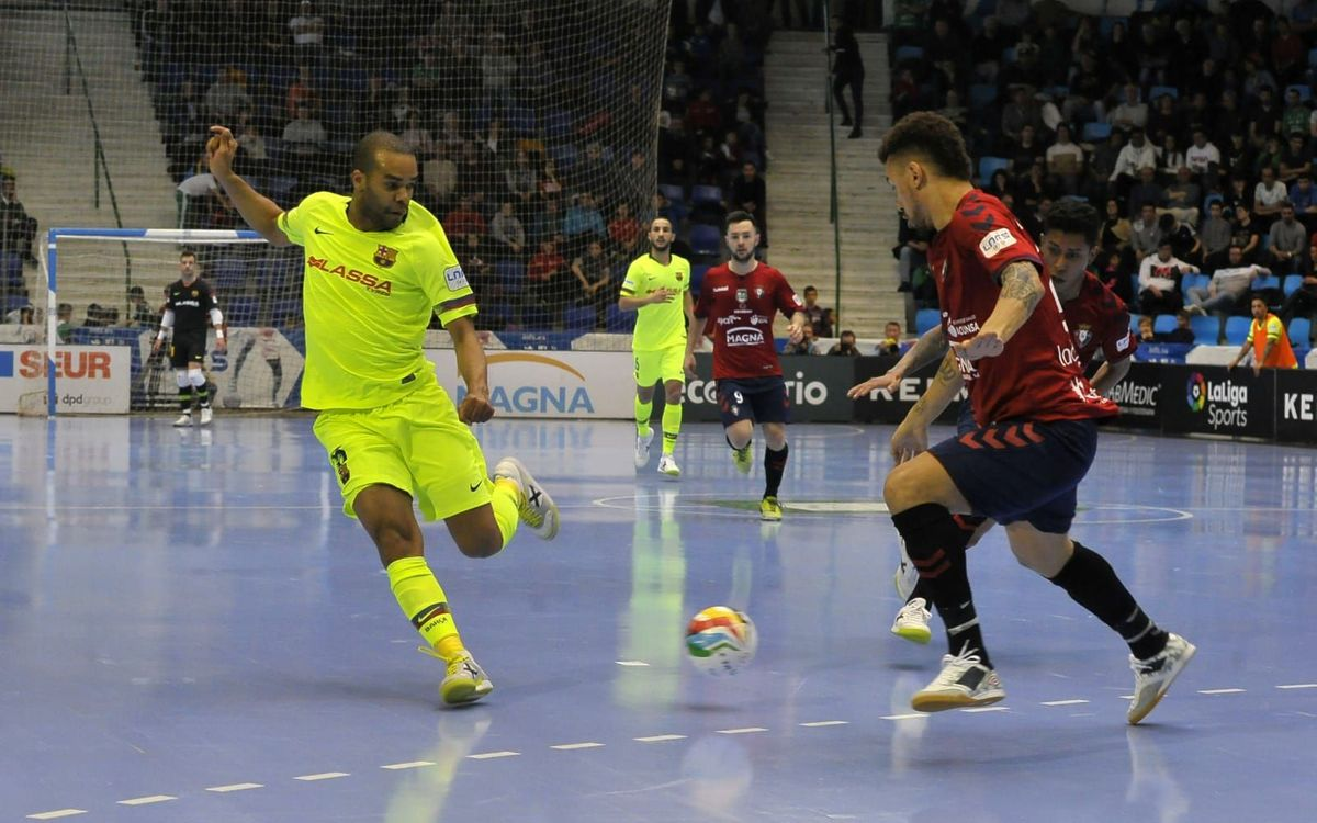 Osasuna Magna 3 – 2 Barça Lassa: Defeated on the road