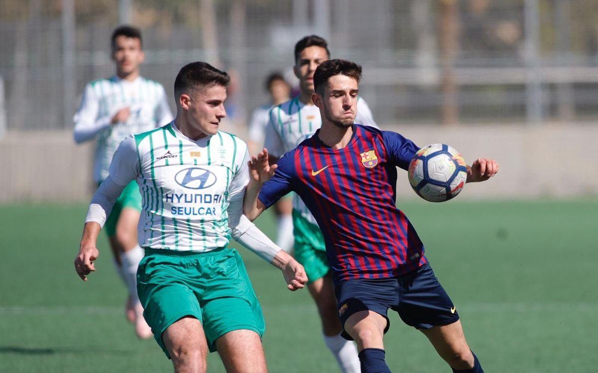 EM El Olivar - Juvenil A: Luchan la Liga hasta el final (1-2)