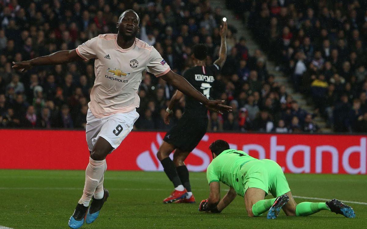 Lukaku v PSG - Manchester United