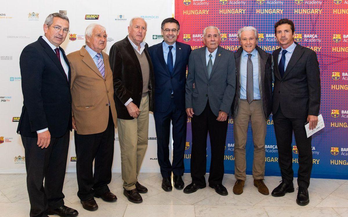 Personalidades del acto de homenaje a Sandor Kocsis - GERMÁN PARGA