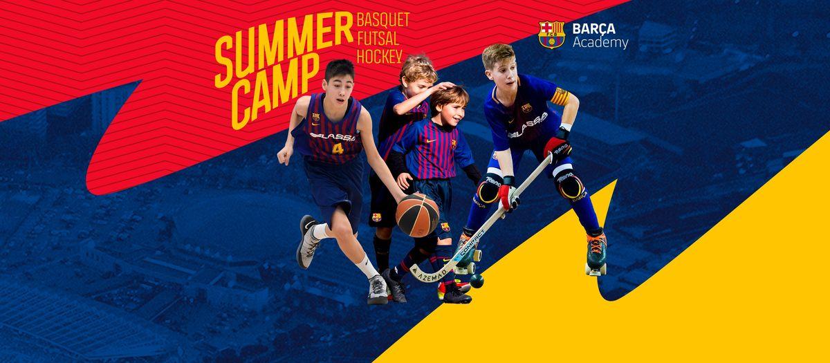 Campus basquet, futsal y hockey. Barça Academy