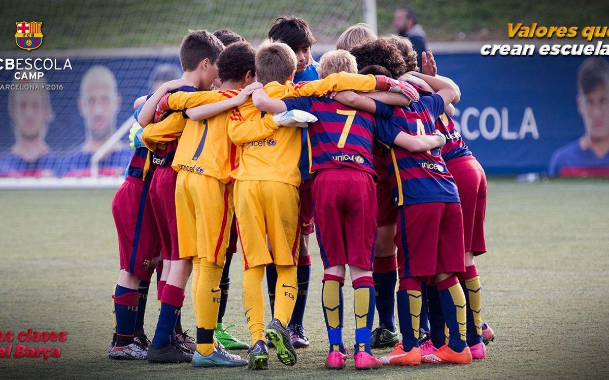 Abierto el plazo de inscripciones para 'Las clases del Barça' 2016