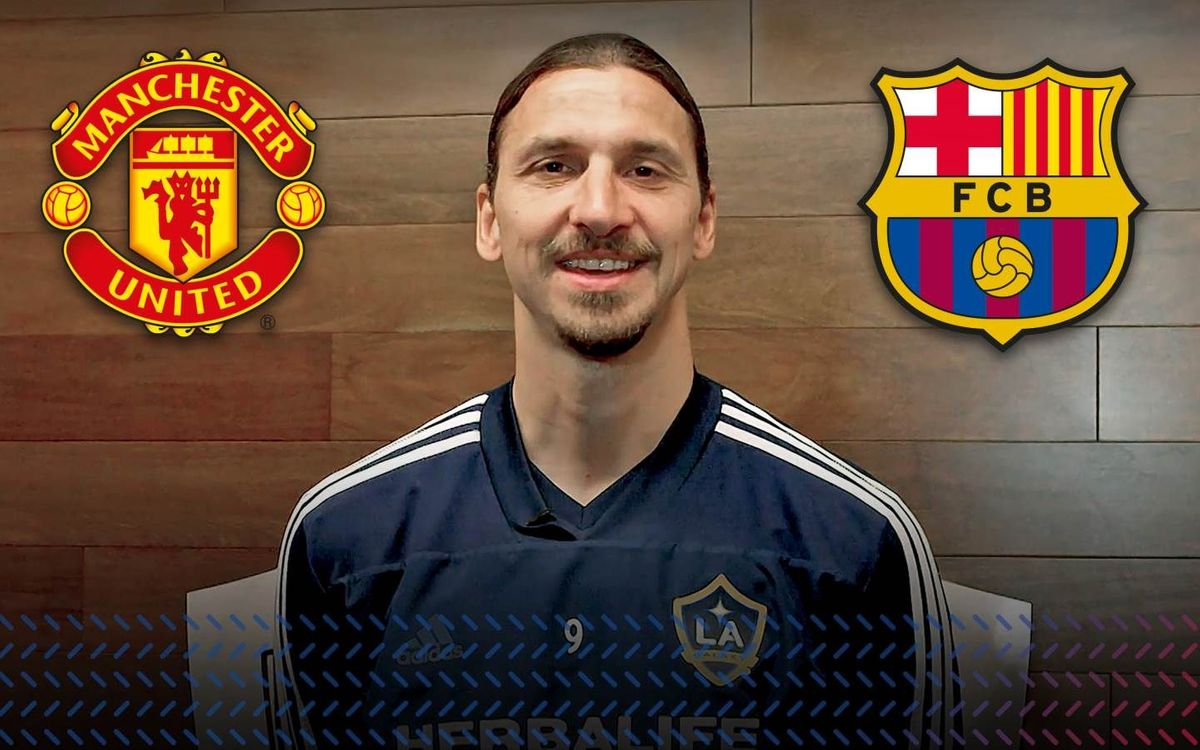 Ibrahimovic: 'United vs Barça will be a very attractive duel to watch'