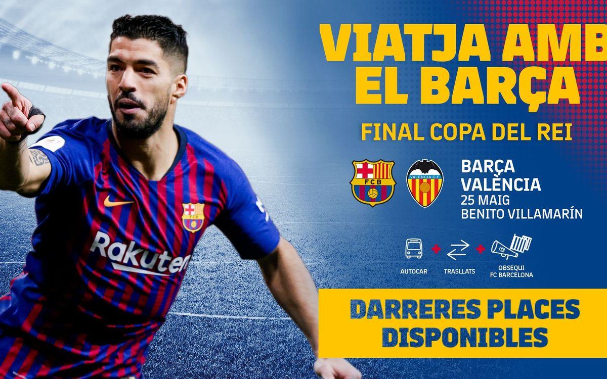 Avui dijous es posen a la venda les darreres places d'avió per a la final de Sevilla