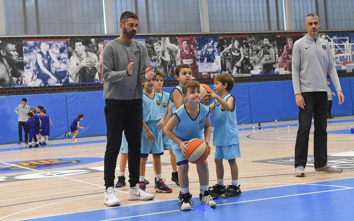 El Campus de verano de baloncesto, con Juan Carlos Navarro