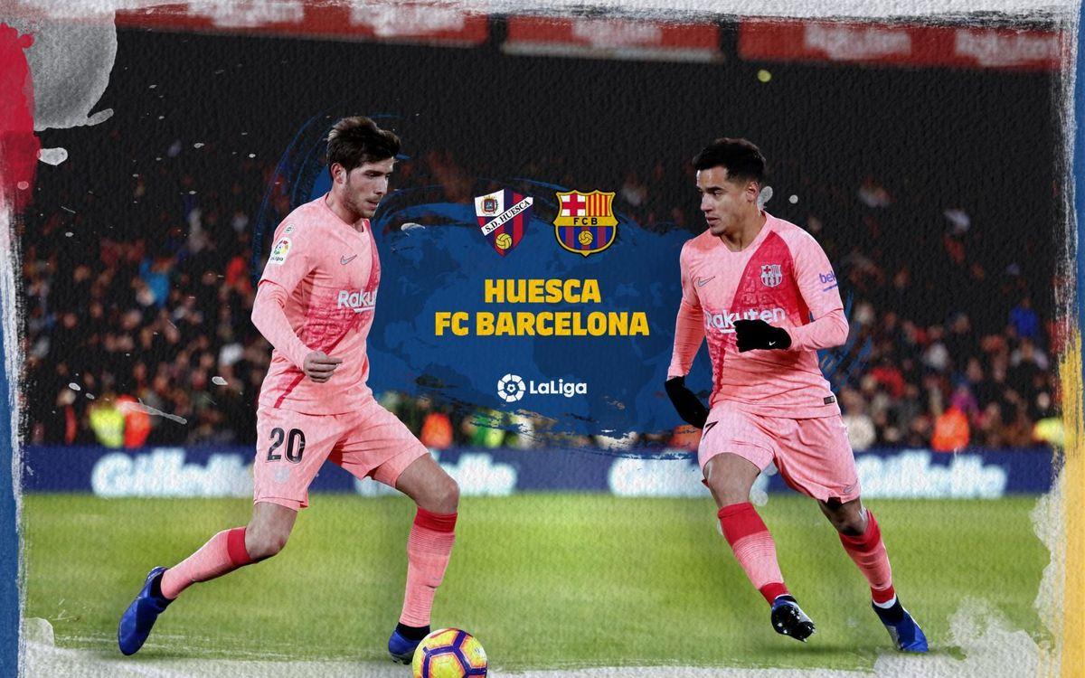 Cuándo y dónde ver el Huesca - Barça