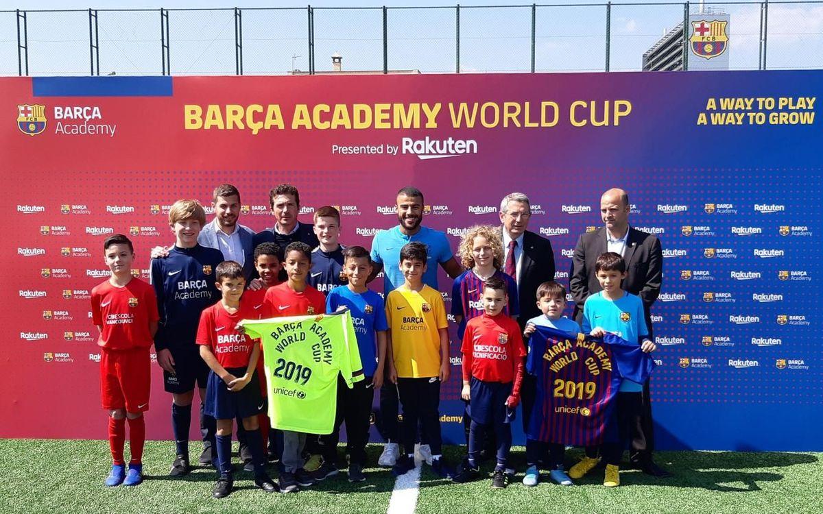 Presentada la Barça Academy World Cup 2019 by Rakuten