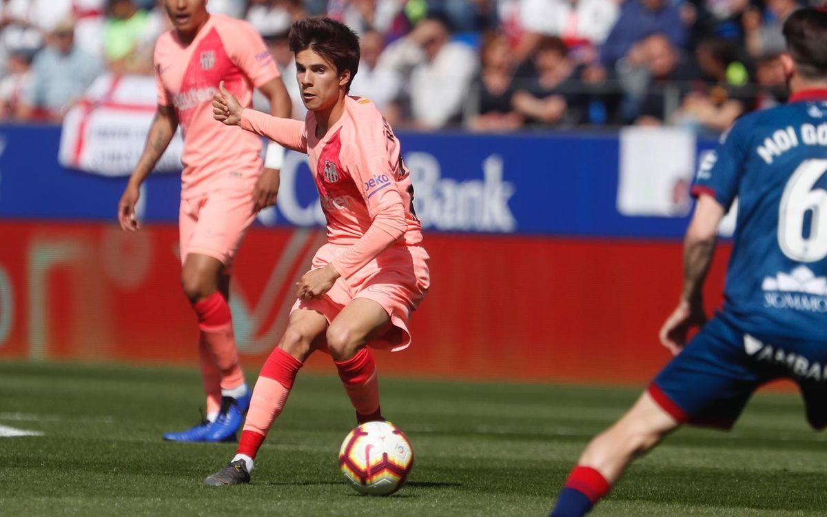 Ocho debutantes del Barça B con el primer equipo