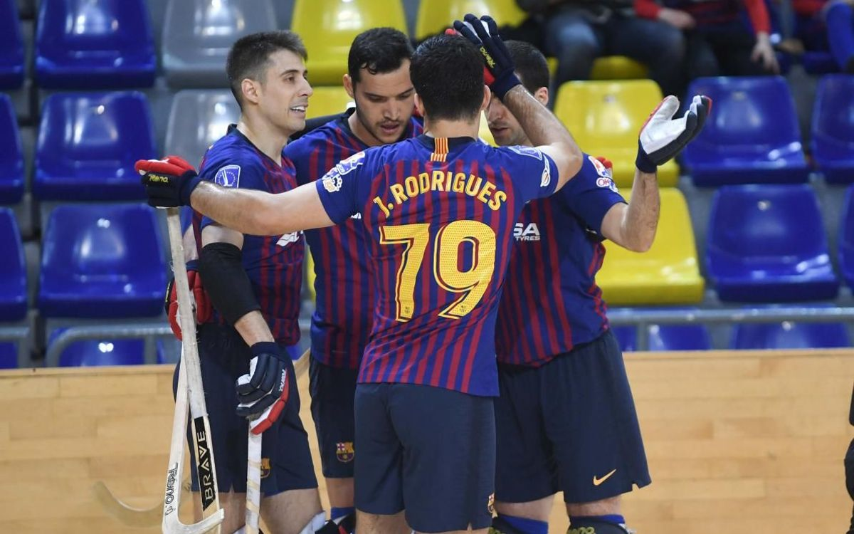 Barça Lassa 11 – 4 PAS Alcoi: Raining goals at the Palau