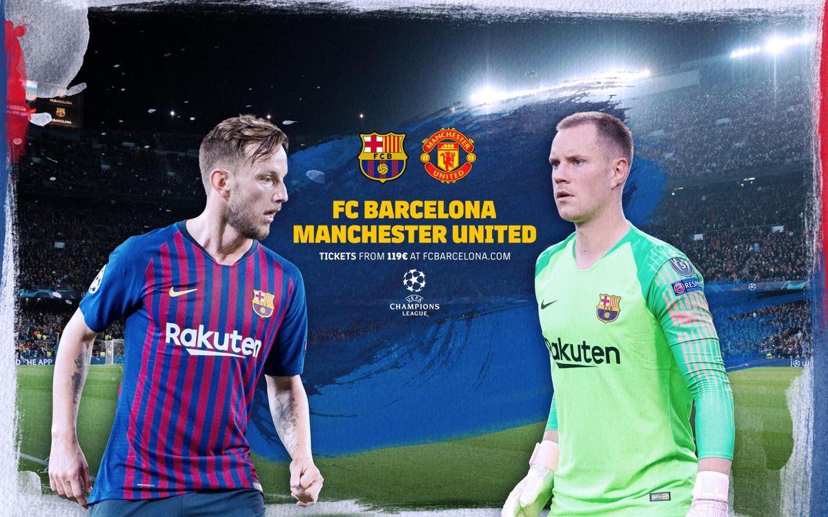 Cuándo y dónde ver el FC Barcelona - Manchester United