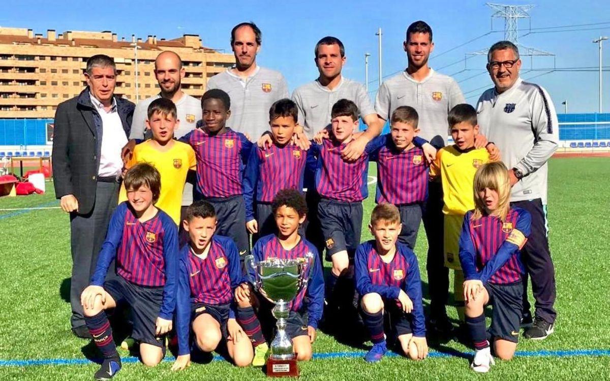 El Benjamín C, campeón del Torneo Junior Soccer Cup