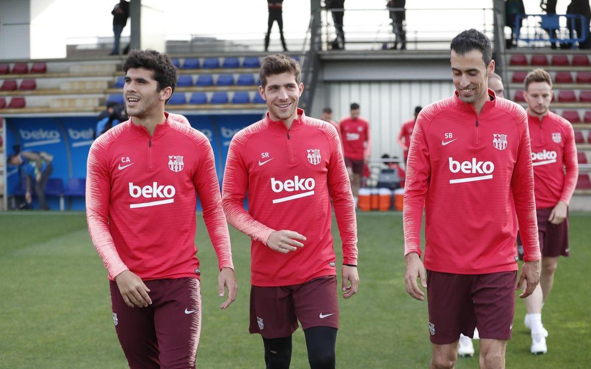 Le groupe du Barça convoqué pour recevoir Manchester United