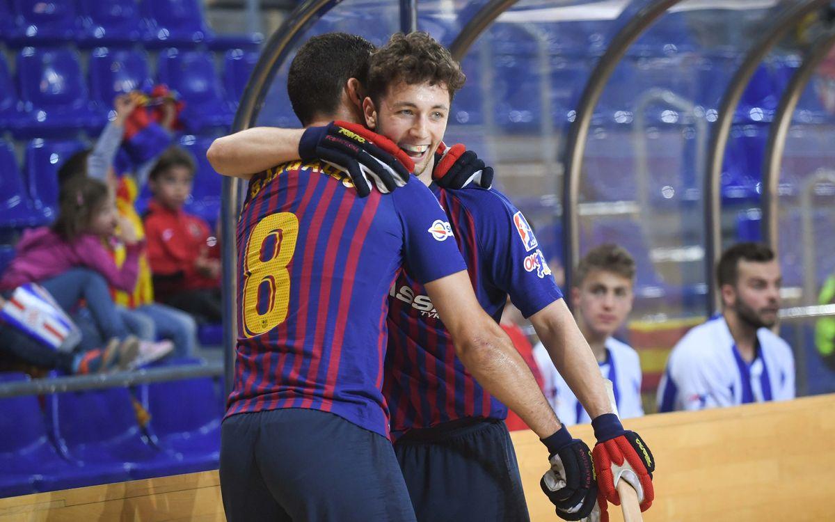 Del gol 50 de João Rodrigues con el Barça al primero de Àlex Joseph en la OK Liga
