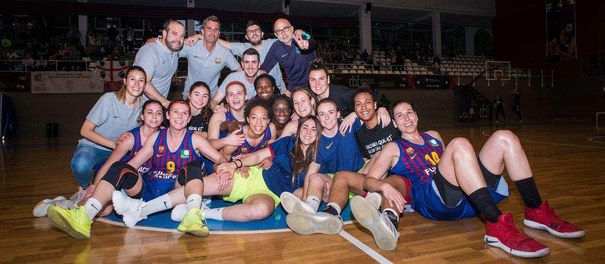 El Barça no falla davant l'Ardoi i lluitarà per l'ascens a la Lliga Dia
