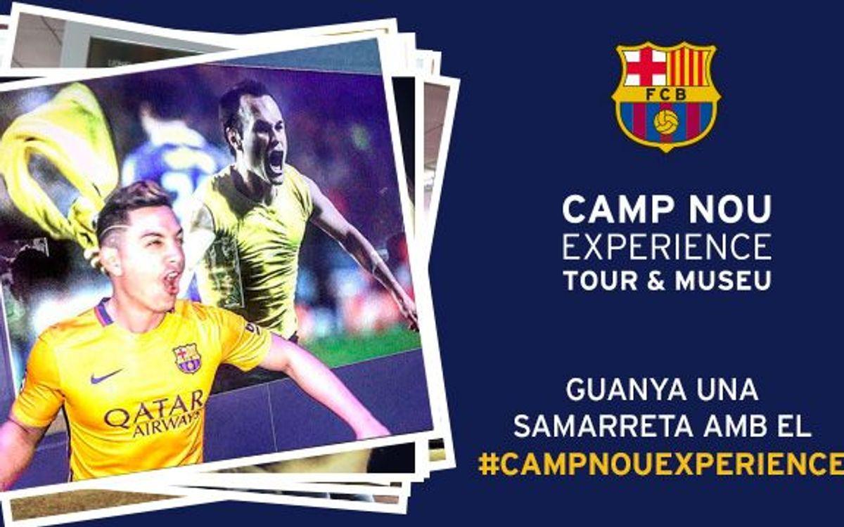 Ja es coneix el guanyador del concurs 'Camp Nou Experience' del gener