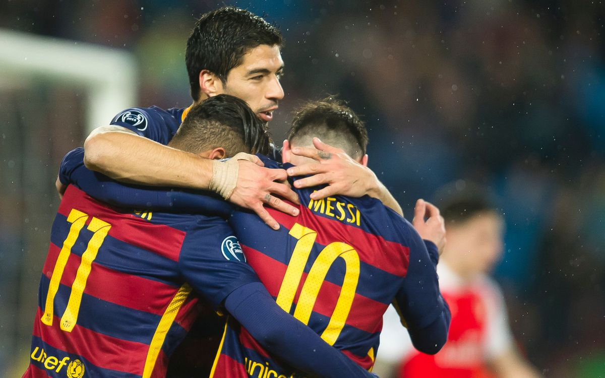 FC Barcelona - Arsenal: Sello definitivo a los cuartos (3-1)
