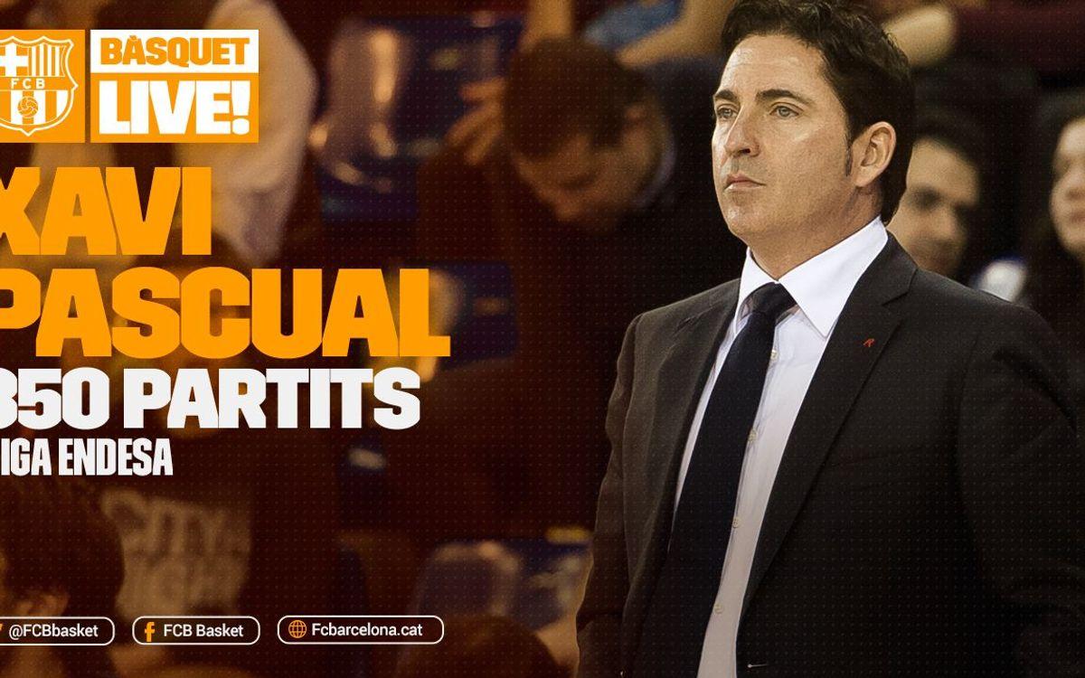 Xavi Pascual, 350 partits a la Lliga Endesa