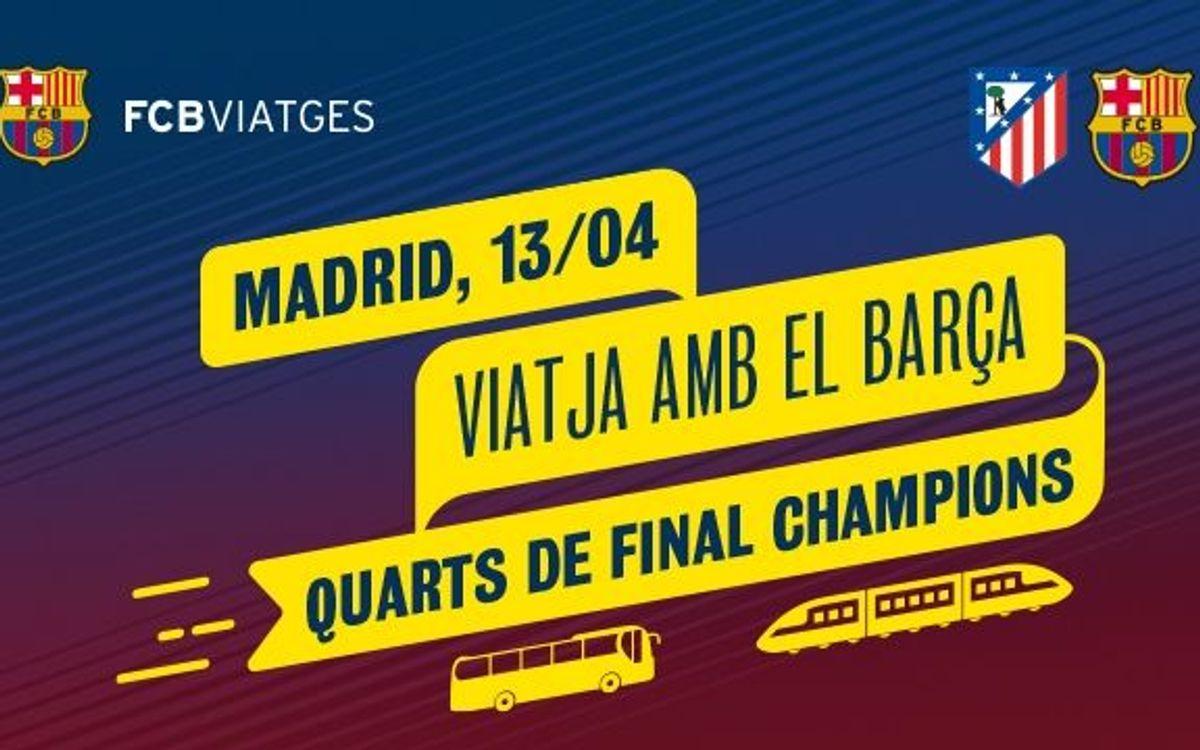 Atlètic de Madrid – FC Barcelona: Entrades assignades per anar al Vicente Calderón