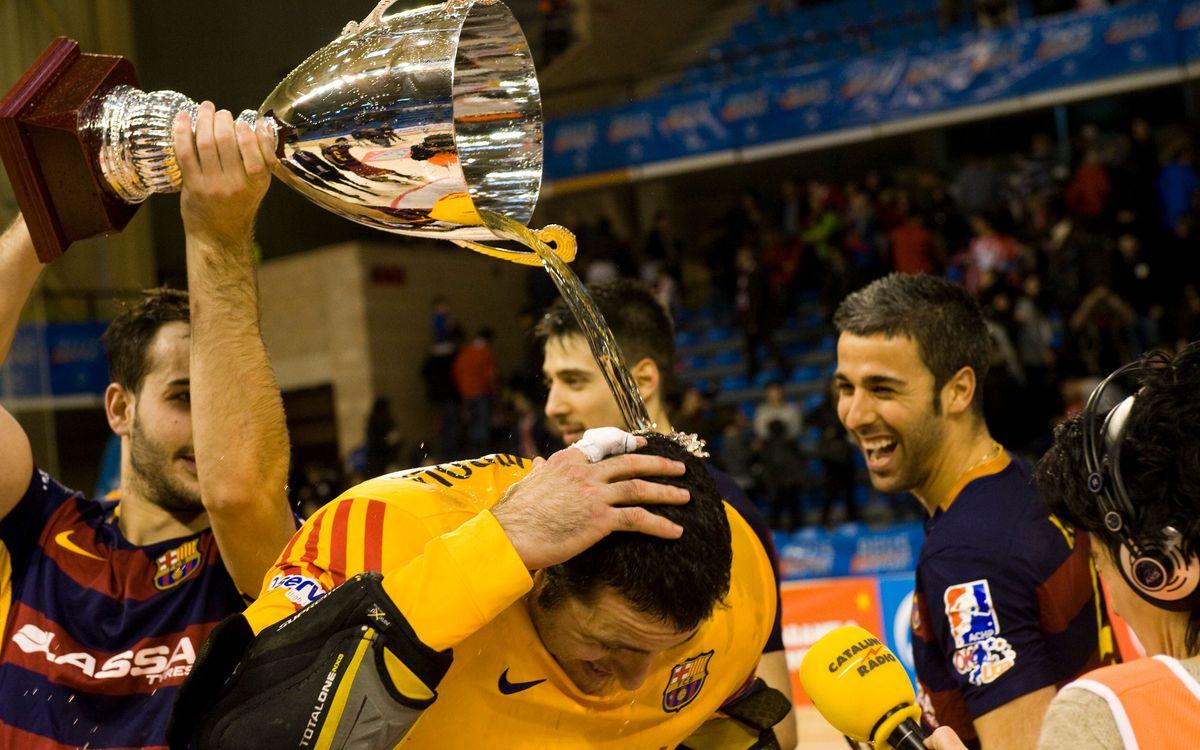 El Barça Lassa d'hoquei conquereix el 20è títol de la Copa del Rei