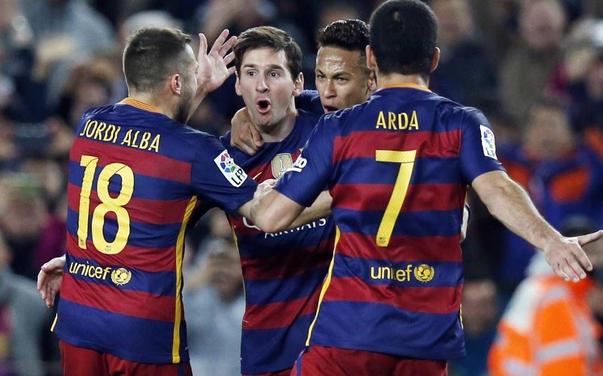 FC Barcelona – Sevilla FC: Exhiben el carácter ganador (2-1)