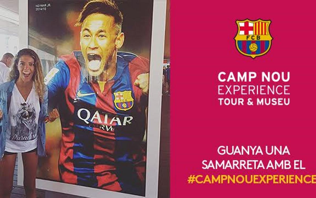 El concurs 'Camp Nou Experience' de desembre ja té guanyador
