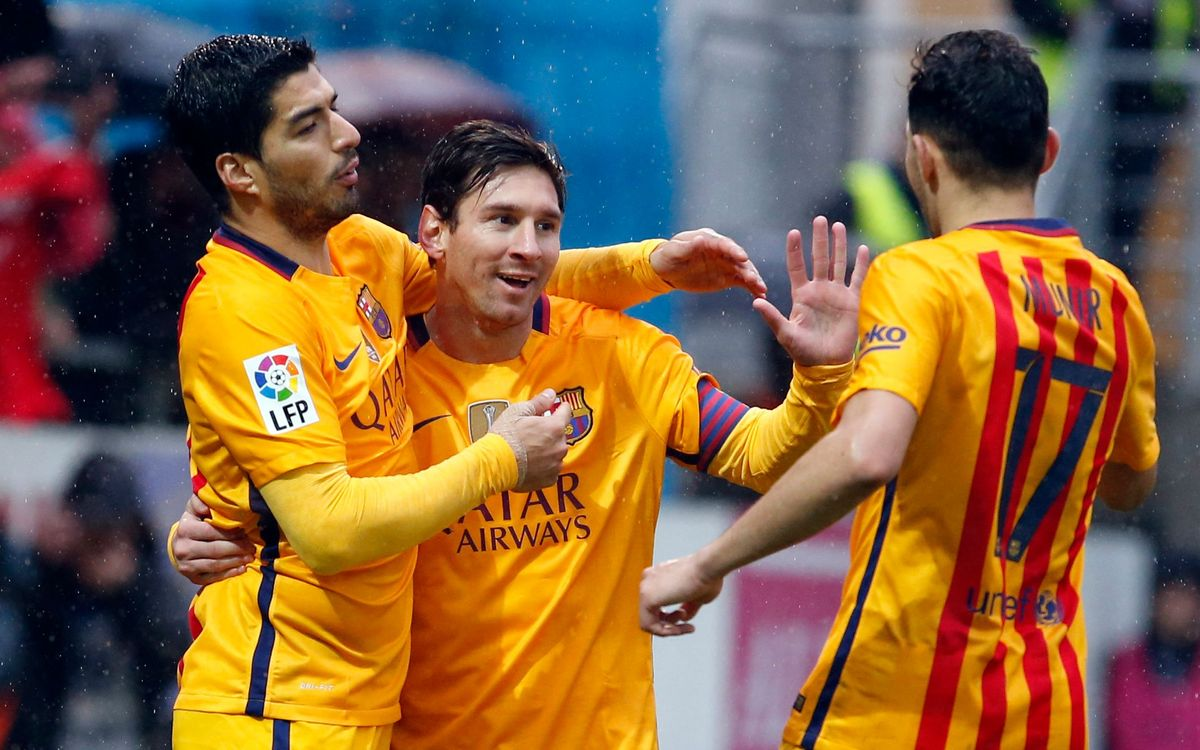 SD Eibar - FC Barcelona: Apisonadora imparable (0-4)