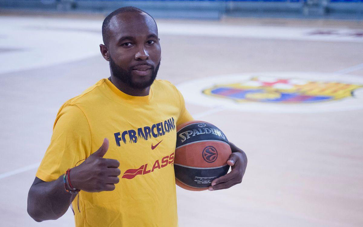 Tyrese Rice, nuevo jugador del Barça Lassa de baloncesto
