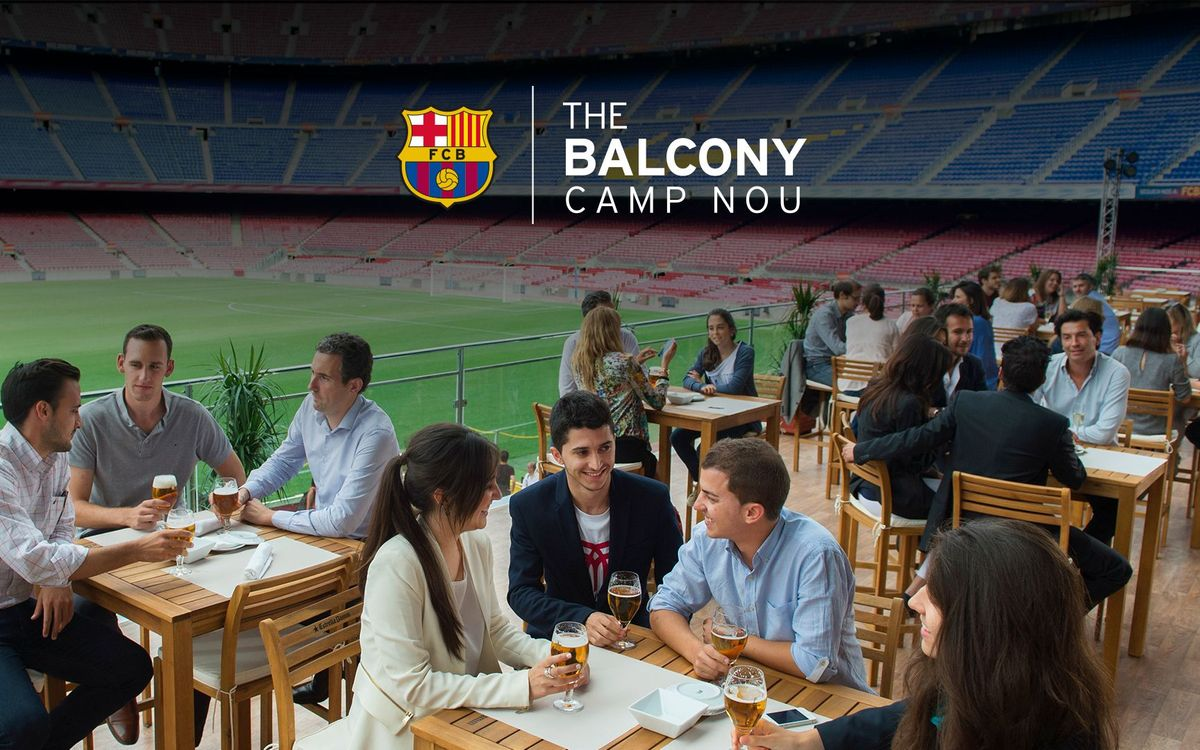 'The Balcony', la terraza del verano para disfrutar del Camp Nou