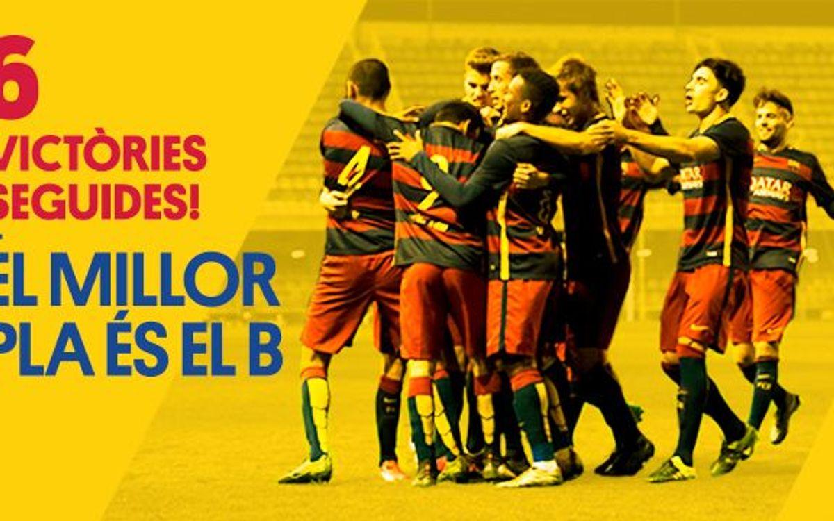 Bons números del Barça B abans del Tourmalet