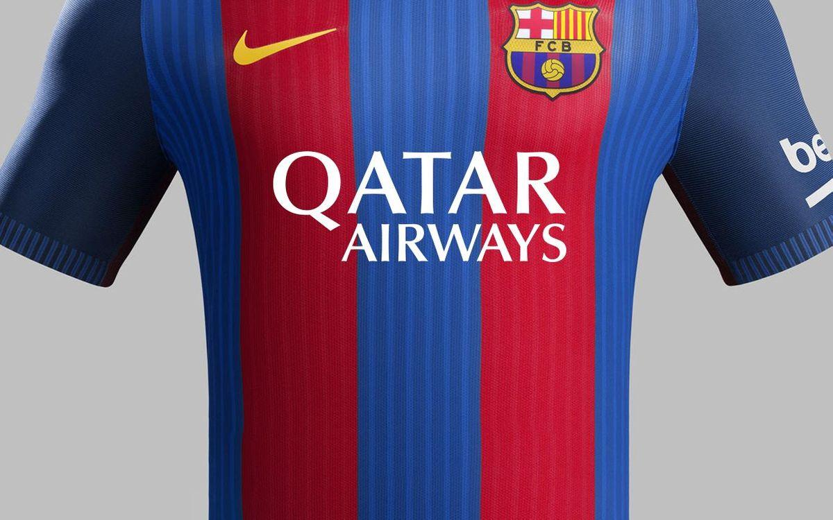 El FC Barcelona i Qatar Airways prorroguen el seu acord de patrocini
