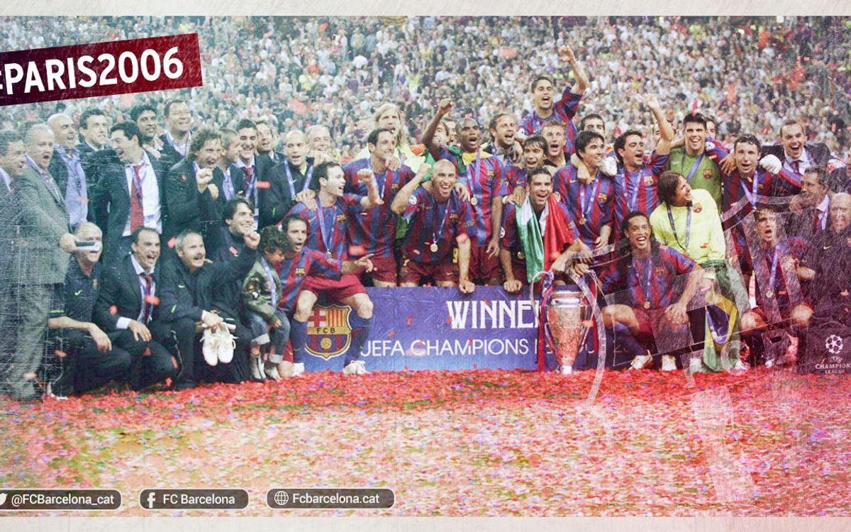 Reviu la Champions de fa deu anys amb l'etiqueta #París2006