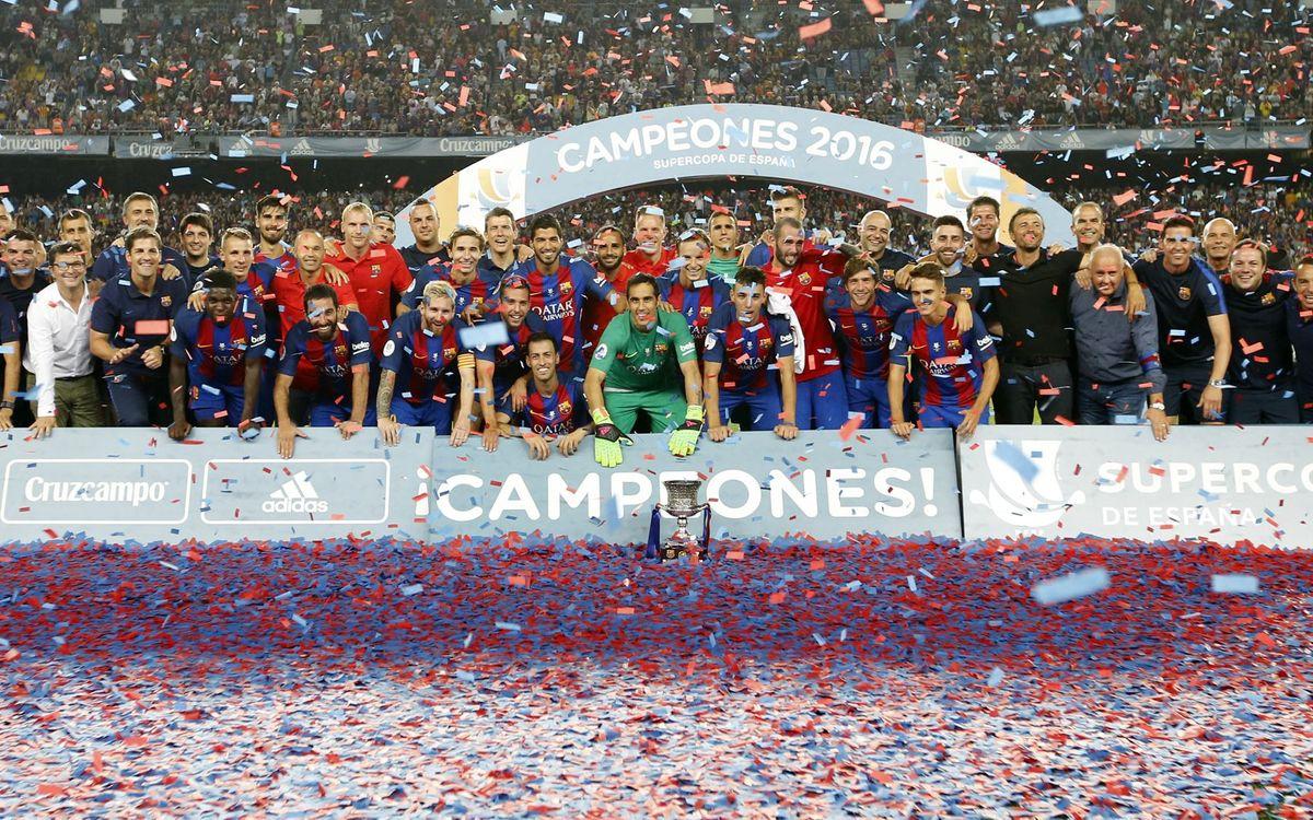 FC Barcelona – Sevilla FC: Campions amb rotunditat (3-0)