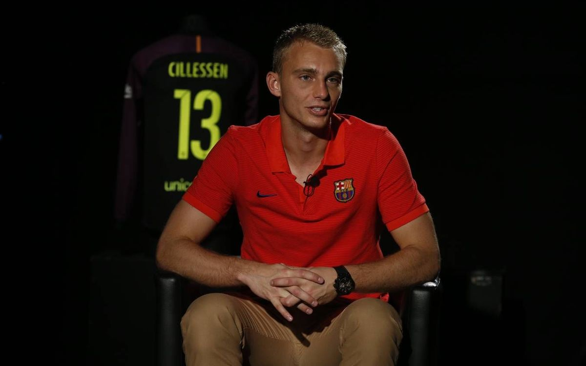 Cillessen: 'I know all about the FC Barcelona style'