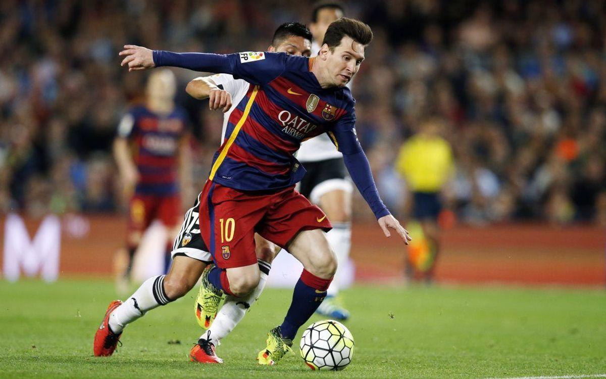 FC Barcelona - Valencia CF: La Liga tendrá cinco finales más (1-2)