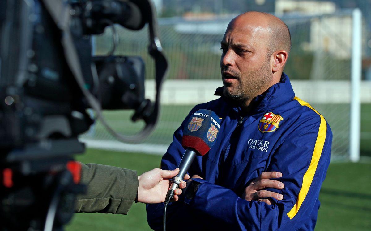 """Gabri sobre el FC Midtjylland: """"Els hem de tenir respecte, és el campió del seu país"""""""