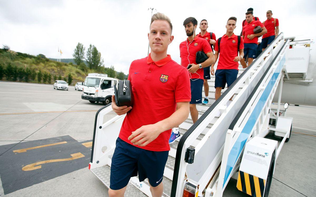 El Barça descansa a Bilbao
