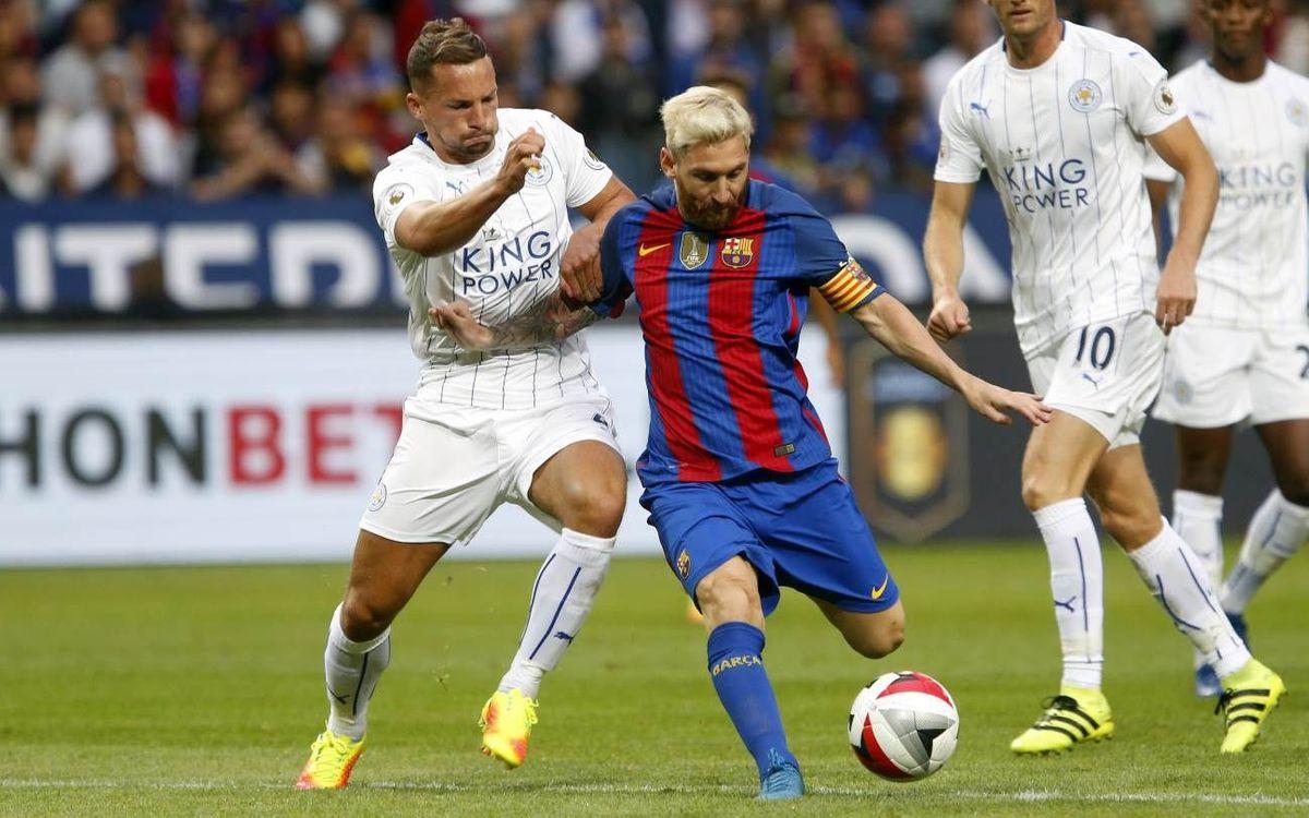 [PRETEMPORADA] El resumen del Leicester City - FC Barcelona