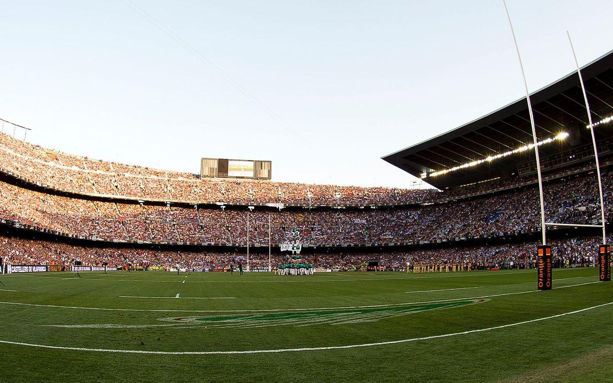 El Camp Nou entra per la porta gran en la història del rugbi
