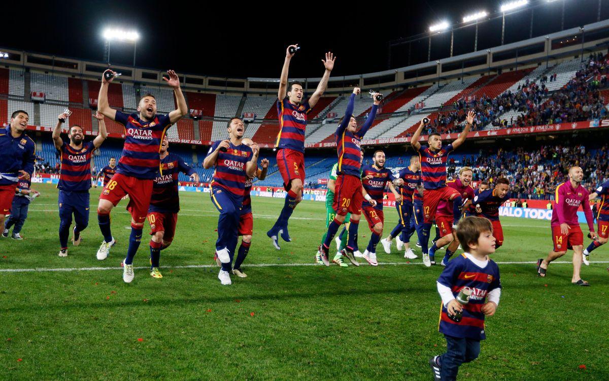 FC Barcelona – Sevilla FC: Bicampions heroics (2-0)