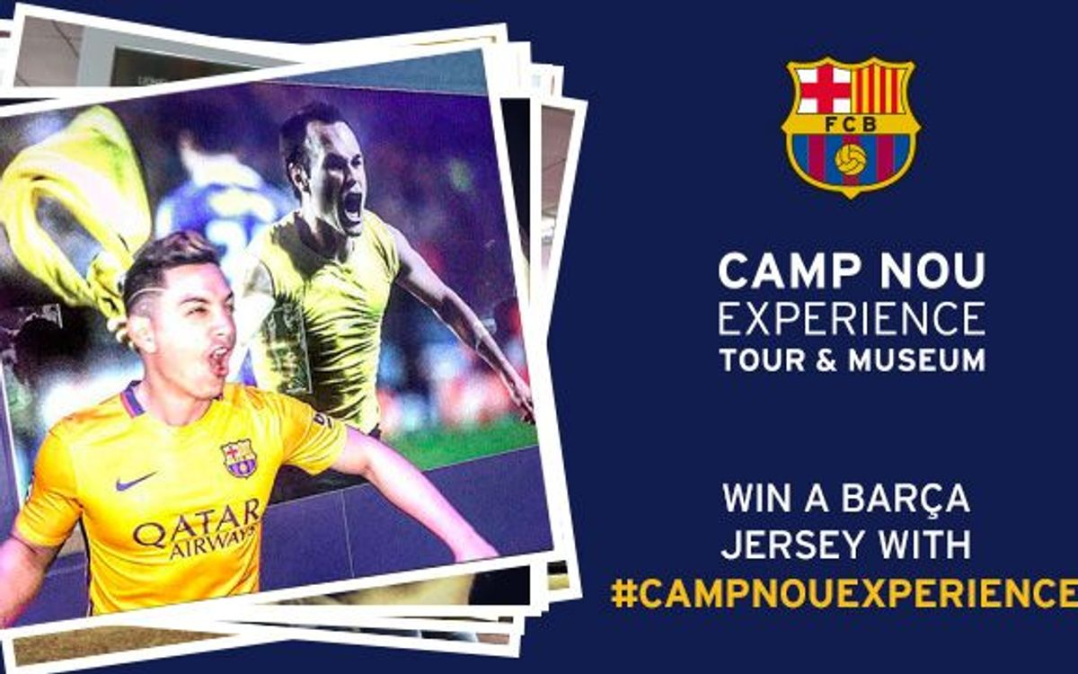 Now we know the winner of the 'Camp Nou Experience' competition for January