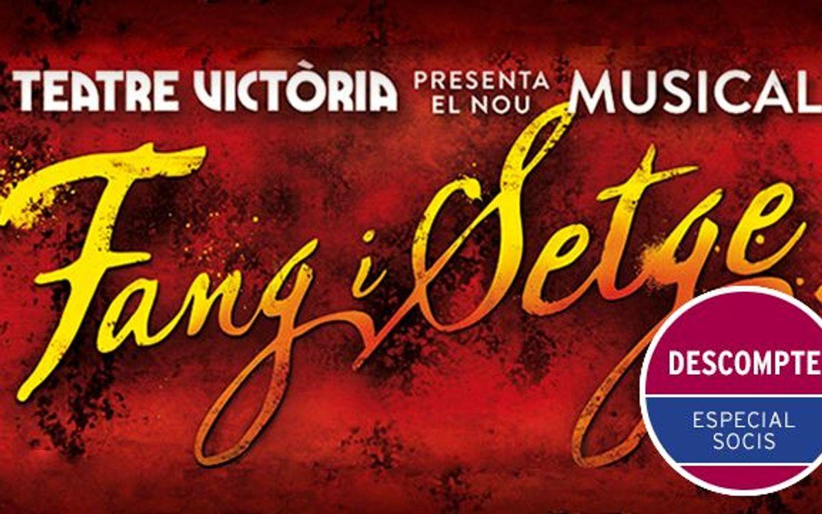 'Fang i Setge' al Teatre Victòria amb descompte especial per a socis del FCB