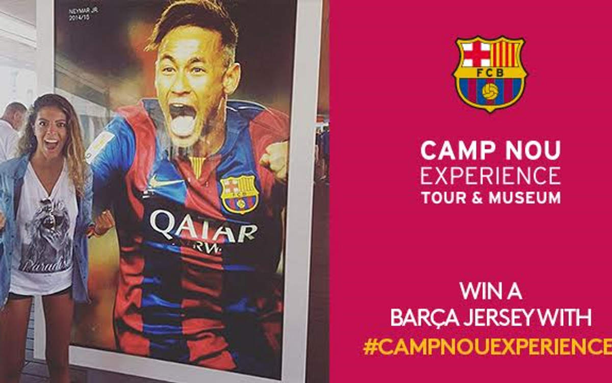 Camp Nou Experience competition of December has a winner
