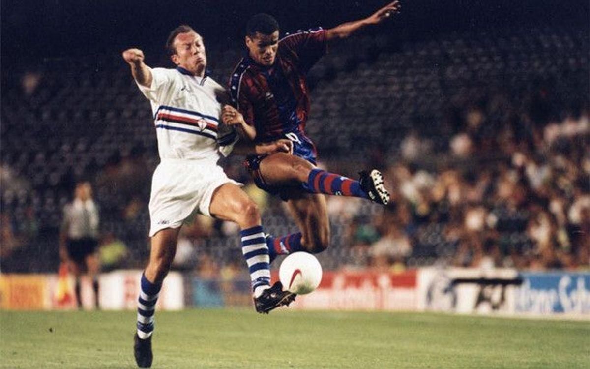 La Sampdoria, una habitual del Gamper